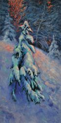 Winter Cloak, Oil Painting by Ann McLaughlin